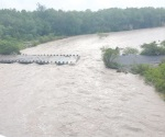 Piden extremar precauciones por creciente del Río Salado