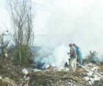 Vuelven a prender basurero municipal