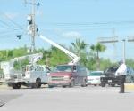 Reparan la red eléctrica para evitar apagones