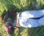 Identifican a ejecutado en el ejido La Retama
