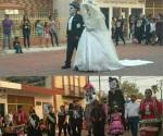 Desfile de ánimas y concurso de catrinas en Cd. Mier