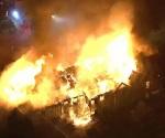 Incendio en asilo deja 20 heridos, en EU