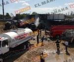 Otra explosión a unos metros de la ocurrida frente a Refinería