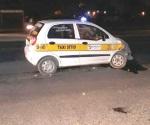 Cuantiosos daños sufre un taxista
