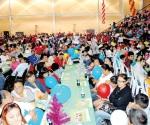 Tradicional posada navideña del Banco de Alimentos de Reynosa