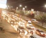 Echan 'madres' por caos vial en boulevares