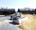 Mueren 5 en Jalisco al chocar con tren