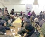 Dan refugio a 220 personas