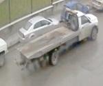 Buscan grúa con la que roban autos