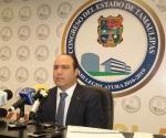 Solicita licencia Carlos García; asume Glafiro Salinas presidencia del Congreso de Tamaulipas