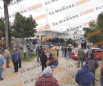 Cierran campesinos oficinas de Sagarpa