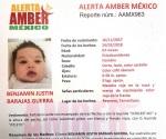 Emiten Alerta Amber por desaparecido por padre