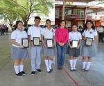 Reconocen a alumnos, destacaron en XVII Festival Académico