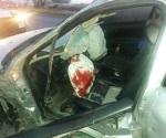 Carreterazo deja un herido grave