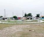 Vandalizan parque de Hacienda Las Brisas