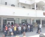 Represalia contra trabajadores del municipio por protestar