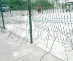 Vandalismo en área deportiva