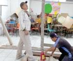 Inician trabajos de mejoramiento de dos escuelas
