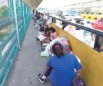Quedan varados centroamericanos