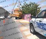 Se estrella camión de pasajeros contra el DIF Reynosa: 3 heridos