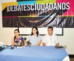Sólo cuatro candidatos aceptan debatir
