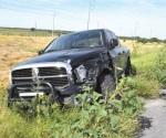 Tres lesionados en aparatoso accidente vial
