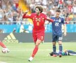 Con gol agónico,  Bélgica avanza