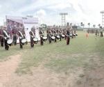 Participan 20 escuadrones en 2º Concurso Municipal de Bandas de Guerra