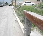 Urge reparación viejo puente en ruinas de El Olmo y Arboledas