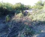 Volcadura deja 2 lesionados en San Fernando