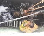 Dan PCyB mantenimiento a cárcamo en Las Torres