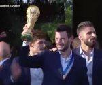 Franceses reciben a campeones del mundo