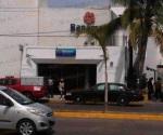 Asaltan dos sujetos un banco de Tampico