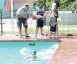 Invitan a clases de  natación