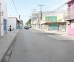 Cierran calle y ventas de comerciantes