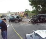 Encontronazo deja dos conductores fallecidos