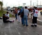 Choca camión contra microbús; 7 heridos