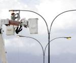 Ahorra dinero municipio con instalación de lámparas LED