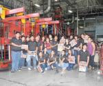 Visitan El Mañana estudiantes de  bachillerato  de la UANE