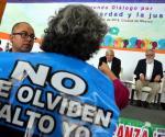 Estallan víctimas de desaparecidos; claman soluciones