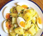 ´Papas aliñás´ con huevo
