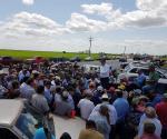 Amenazan agricultores con tomar Aserca