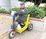Discapacitado pide ayuda para mantener a su esposa