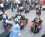 Desfile de Día de Muertos en Río Bravo