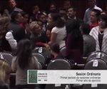 En plena sesión informan a diputada de Morena del asesinato de su hija