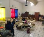 Ausentismo en primarias y secundarias debido al frío en Matamoros