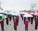 Celebran 108 aniversario de la Revolución con desfile