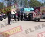 Enfrentan delincuentes a estatales en Rincón de las Flores, Reynosa