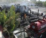 Se incendia restaurante El Cenizo en Victoria