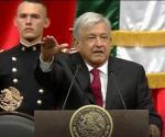 Rinde protesta AMLO como presidente constitucional de México